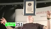 Dan Magness: Three Guinness World Records (flash video, 1′55″)