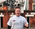 Top Dog Promotions news: Dan at Fulham FC (jpeg image)